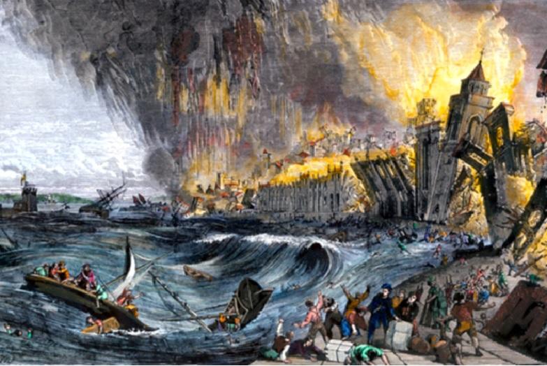 Le Séisme De Lisbonne En 1755 Retour Sur Une Gestion De